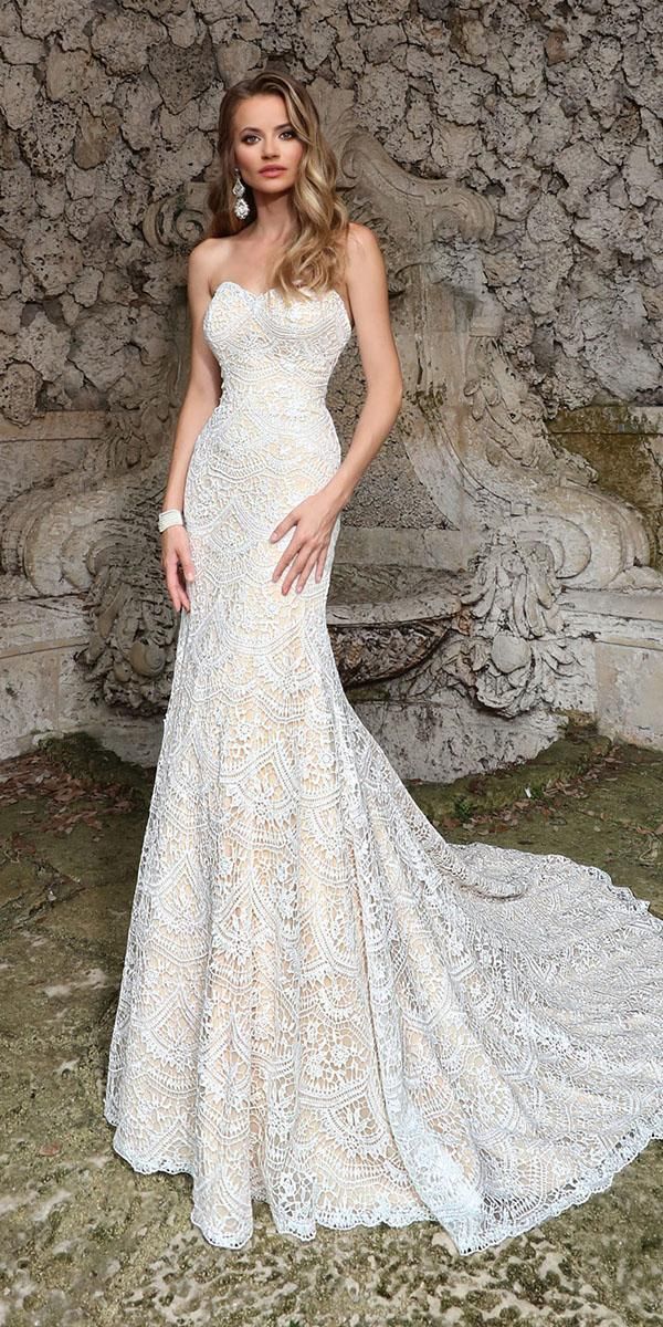 ashley justin bride wedding dresses a line sweetheart strapless lace 2018 ivory