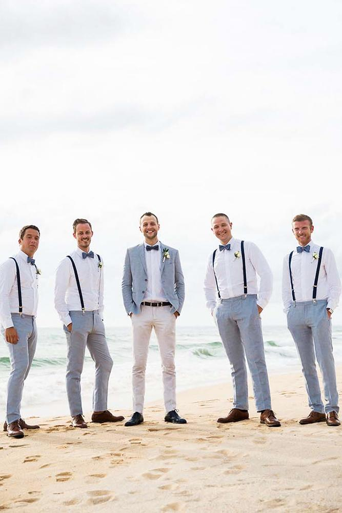 beach groomsmen attire with suspenders darin images