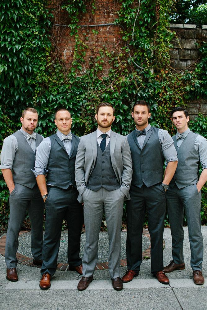 groomsmen attire dark grey waistcoats berkley vopnfjöro