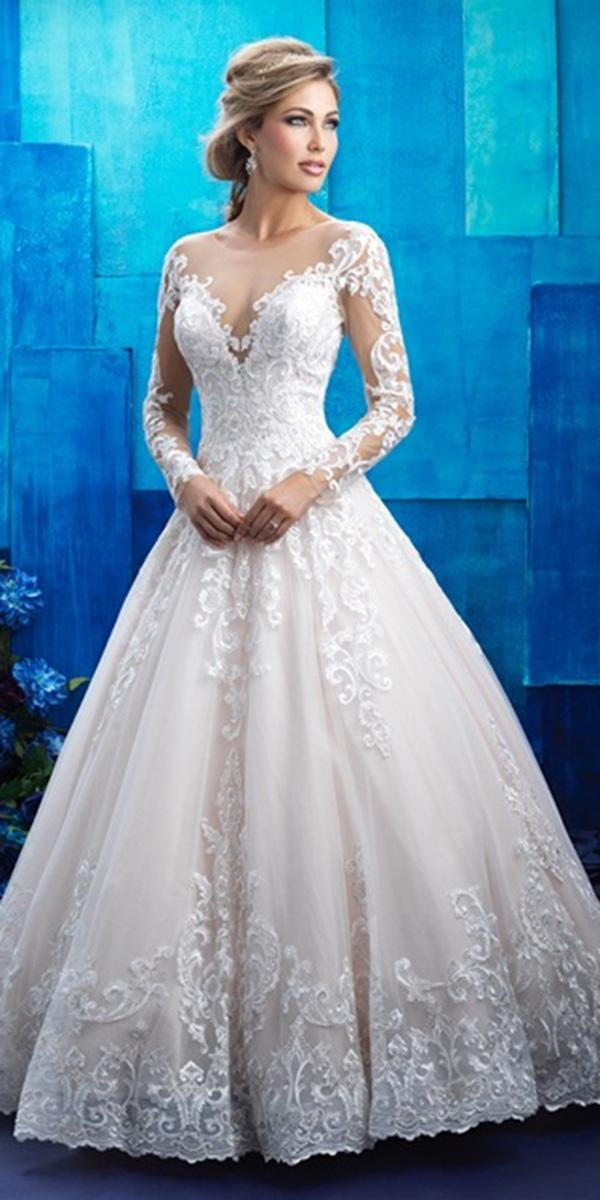 maria menounos wedding a line with long sleeves illusion neckline full lace allure bridal