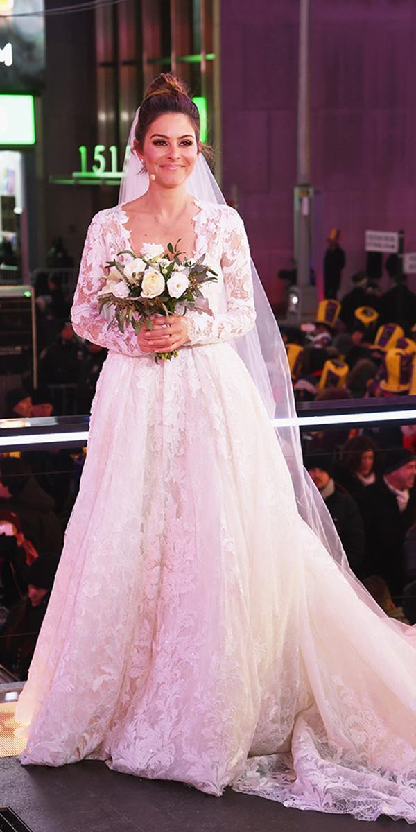 maria menounos wedding pronovias real brie