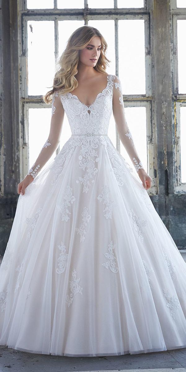 maria menounos wedding with long sleeves v neckline lace mori ee