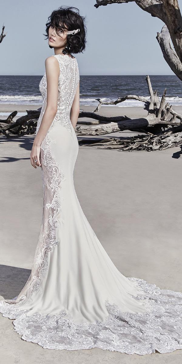 sottero and midgley wedding dresses sheath lace sexy