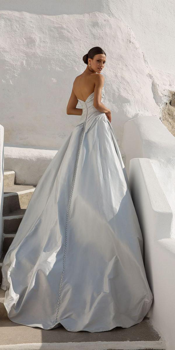 justin alexander wedding dresses ball gown v back silk dupion 2018