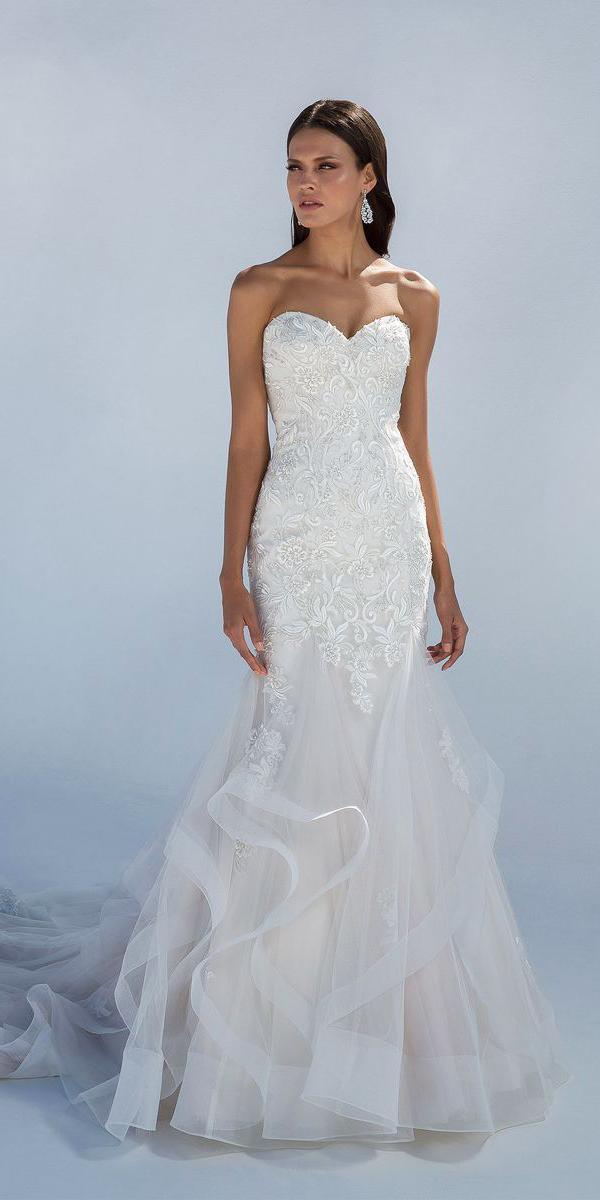 justin alexander wedding dresses mermaid sweetheart lace 2018