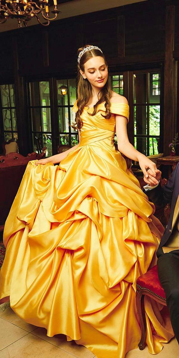 18 Fairytale Kuraudia Disney Wedding Dresses - photo #46
