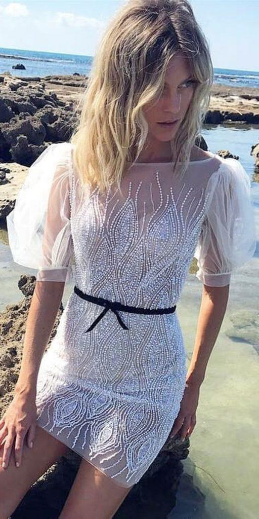 24 Hot Sexy Short Wedding Dresses Wedding Dresses Guide