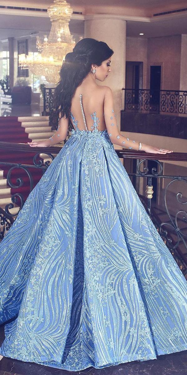 18 Dreamy Blue Wedding Dresses To Inspire Wedding