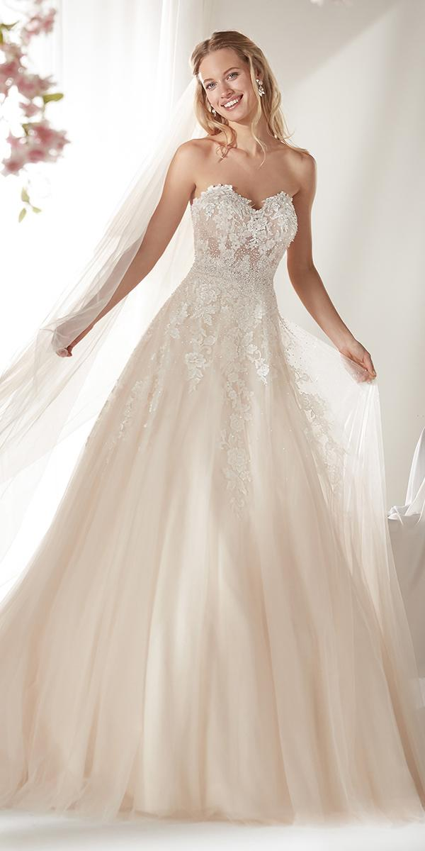 colet by nicole spose 2019 wedding dresses a line ivory sweetheart lace