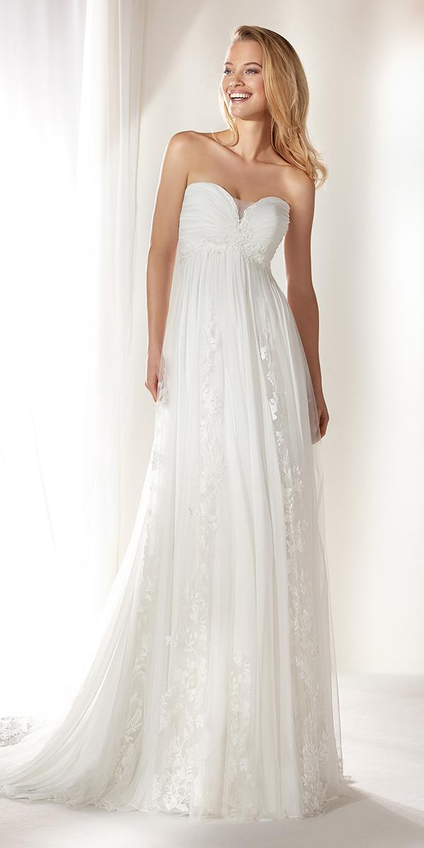 colet by nicole spose 2019 wedding dresses empire sweetheart modest