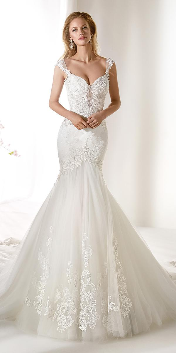 colet by nicole spose 2019 wedding dresses mermaid sweetheart neckline lace