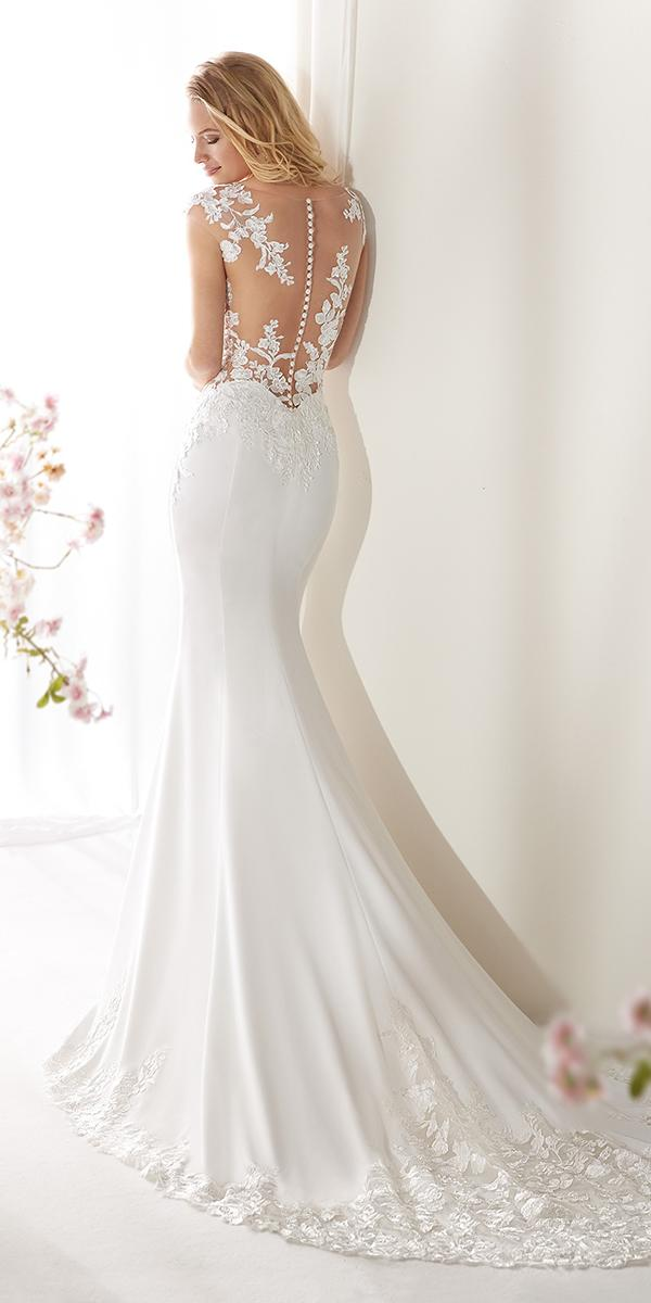 colet by nicole spose 2019 wedding dresses mermaid tattoo effect back with buttons
