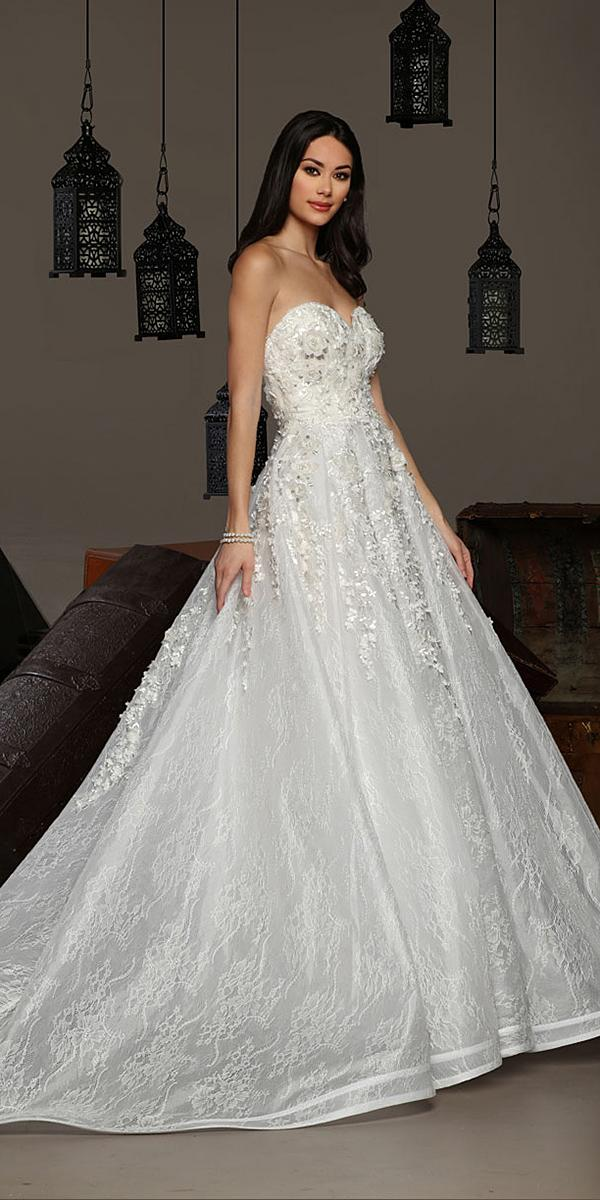 cristiano lucci wedding dresses-a line sweetheart strapless lace floral 2018