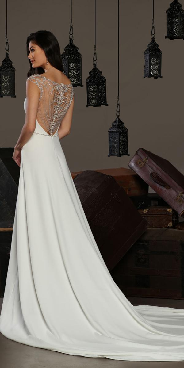cristiano lucci wedding dresses a line beaded back vintage romantic