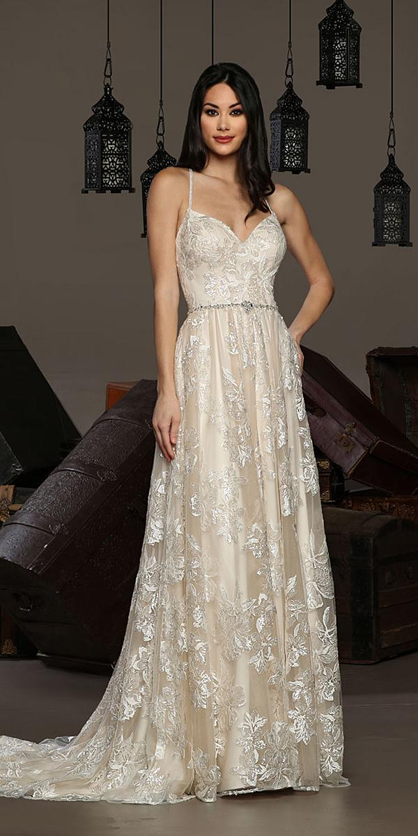 cristiano lucci wedding dresses a line with straps floral romantic 2018