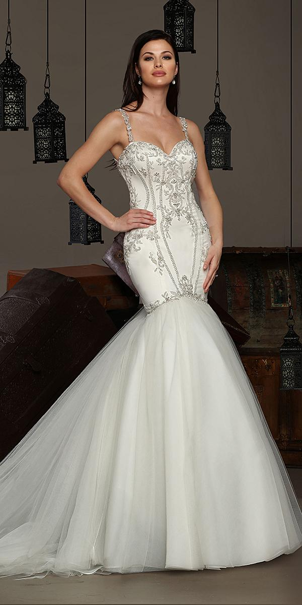 cristiano lucci wedding dresses mermaid with spaghetti straps sweetheart beaded