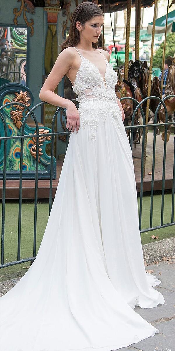 lavish by persy wedding dresses a line with spaghetti straps beach