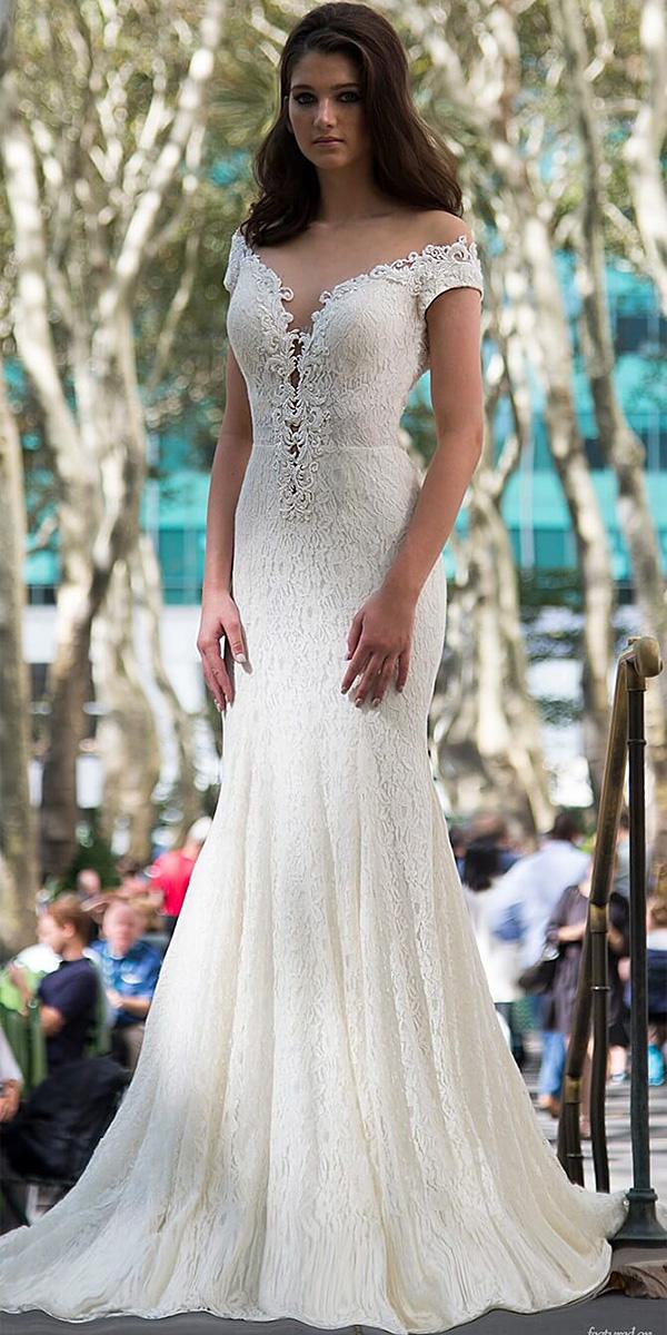 lavish by persy wedding dresses trumpet off the shoulder full lace