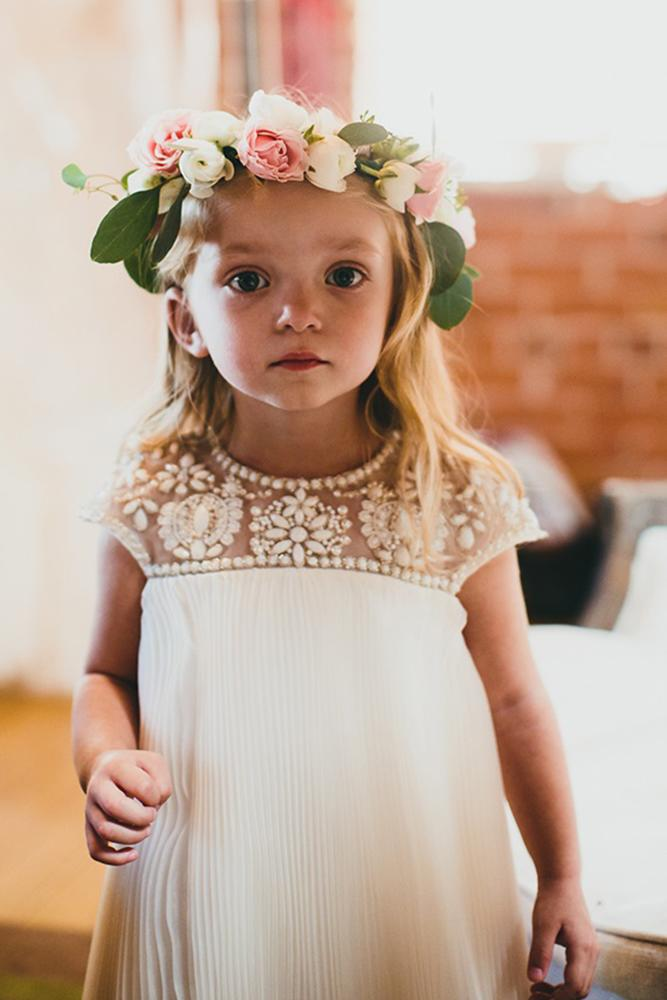 vintage flower girl dresses for summer with cap sleeves jeweled for rustic phil chester