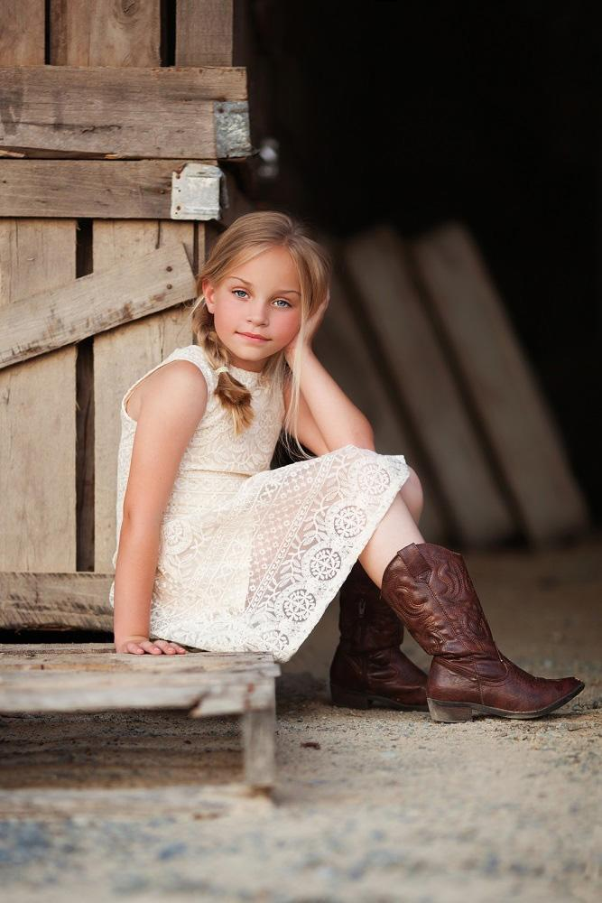 vintage flower girl dresses rustic with boots