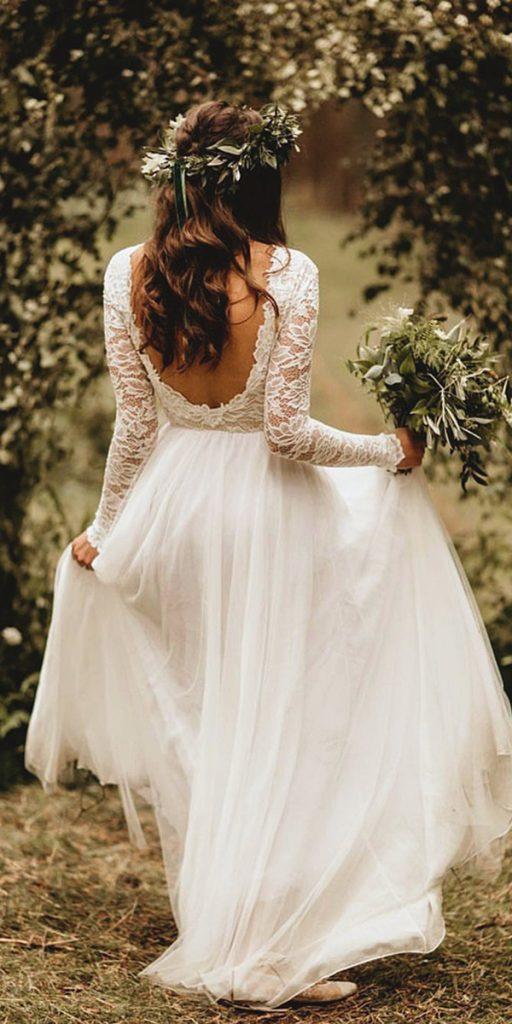 boho wedding lace top