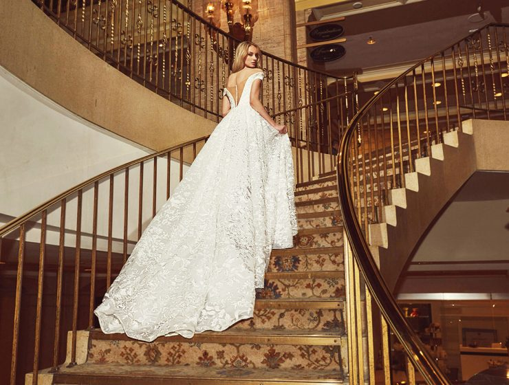 calla blanche wedding dresses featured