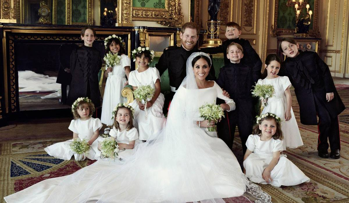 meghan markle and prince harry royal wedding photo clare waight keller