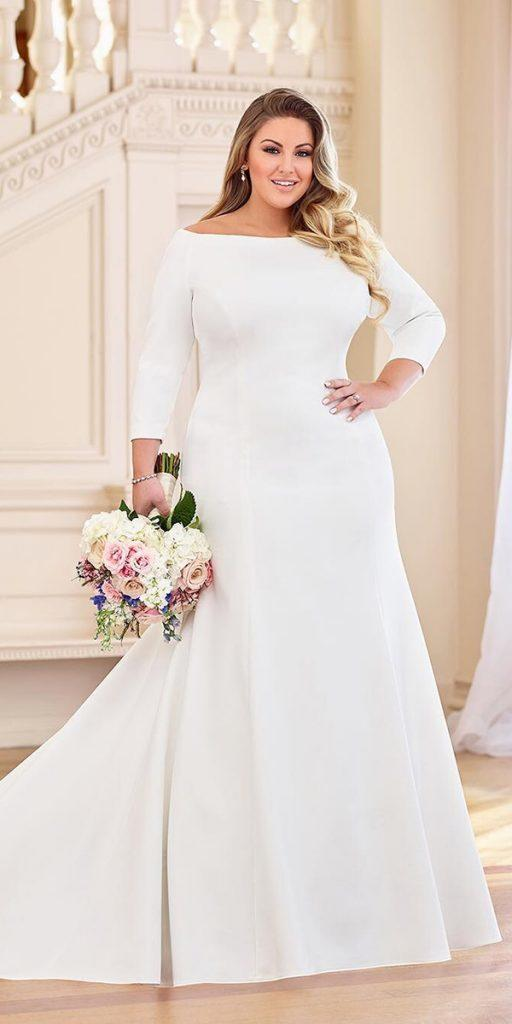 24 Graceful Plus Size Wedding Dresses | Wedding Dresses Guide