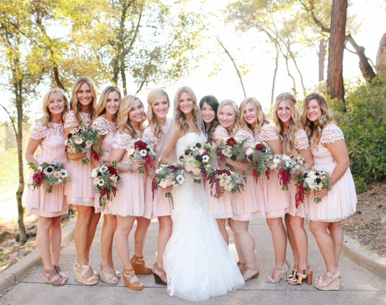 short bridesmaid dresses featured kori jared photography