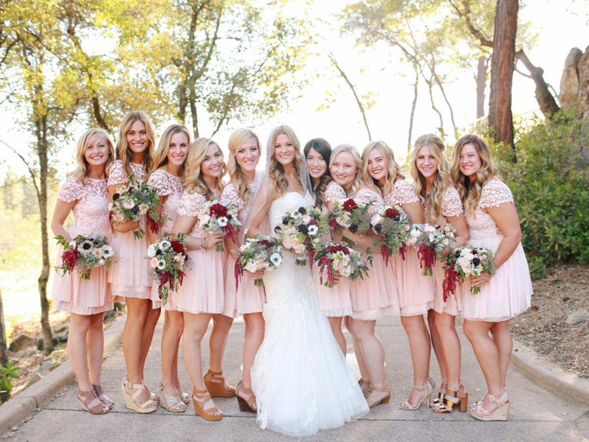 short bridesmaid dresses featured kori jared photography