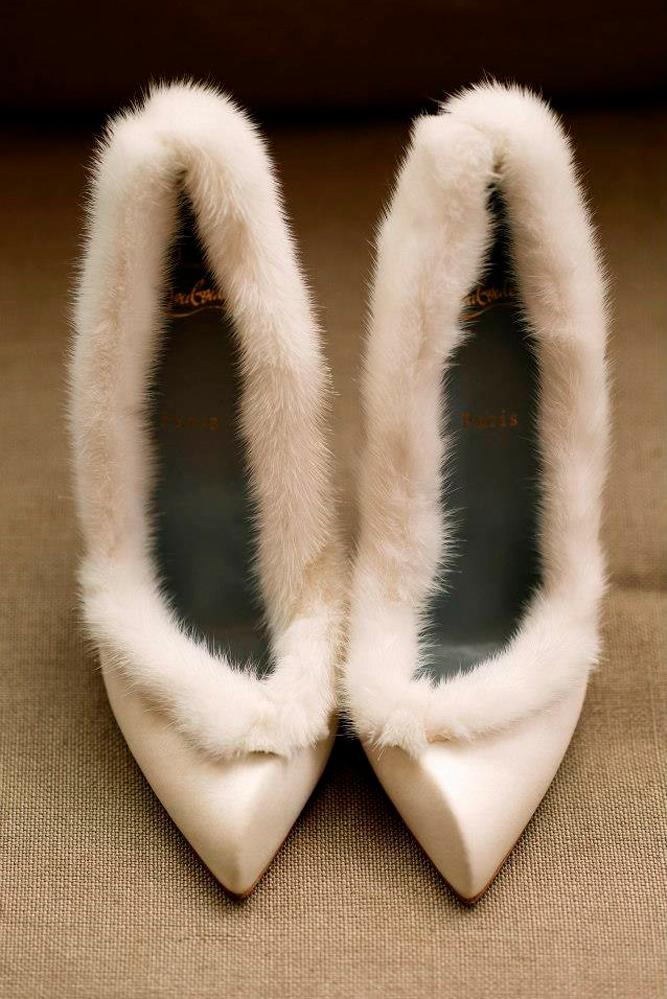 what to wear to a winter wedding fur shoes nardos imam