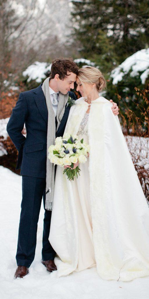 what to wear to a winter wedding vintage embellishment dress with cape helen cawte
