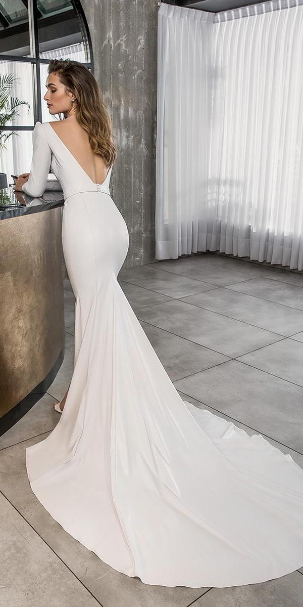 35d8943023 Wedding Gowns For 2019 Modern Mermaid Wedding Dress Collection
