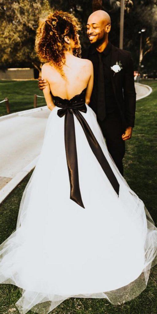 Simple Black And White Wedding Dresses Off 71 Buy