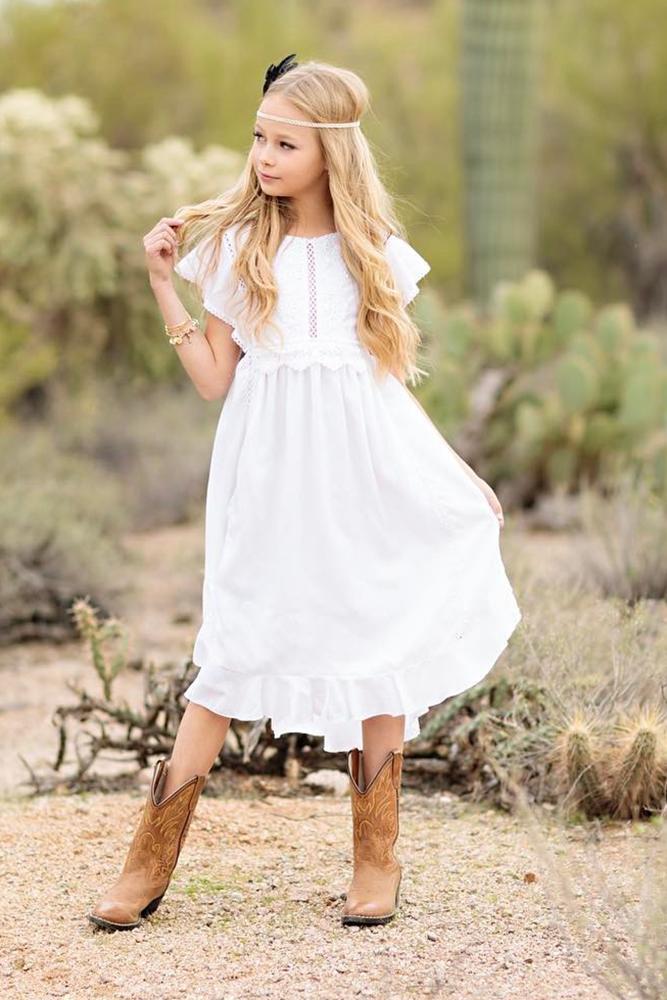 boots girls dresses