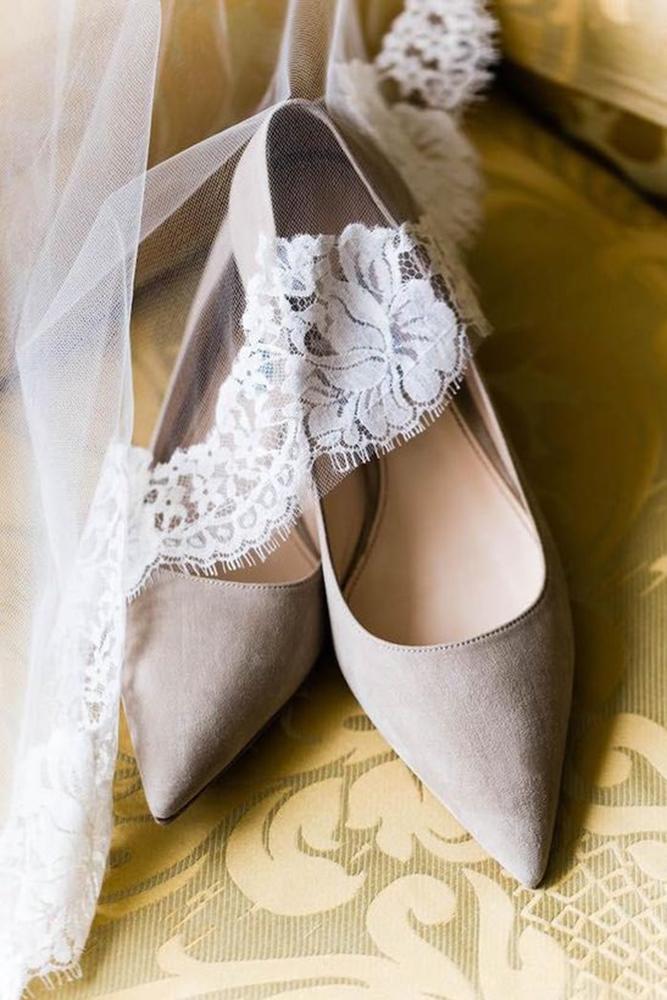 flat wedding shoes simple brown emilia jane
