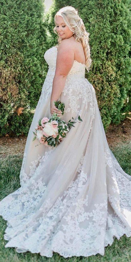 15 Lace Plus Size Wedding Dresses Wedding Dresses Guide