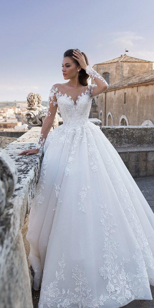 30 Best Lace Wedding Dresses With Sleeves Wedding Dresses Guide