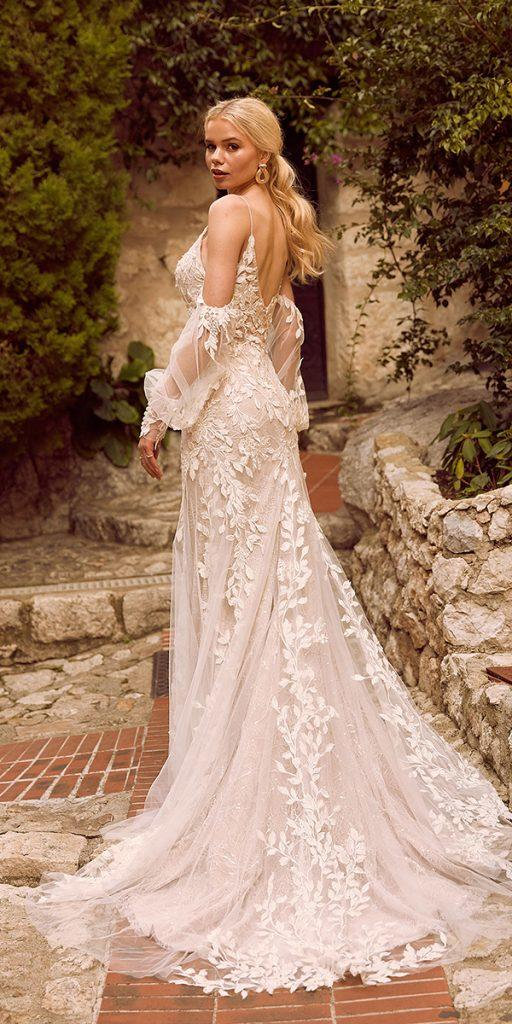 trendy wedding dresses sheath with off the shoulder sleeves lace madi lace