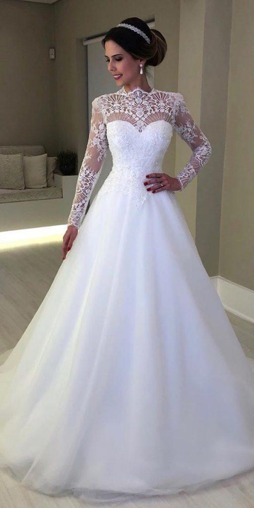 21 Illusion Long Sleeve Wedding Dresses You Ll Like Wedding Dresses Guide,Golden Wedding Anniversary Dresses