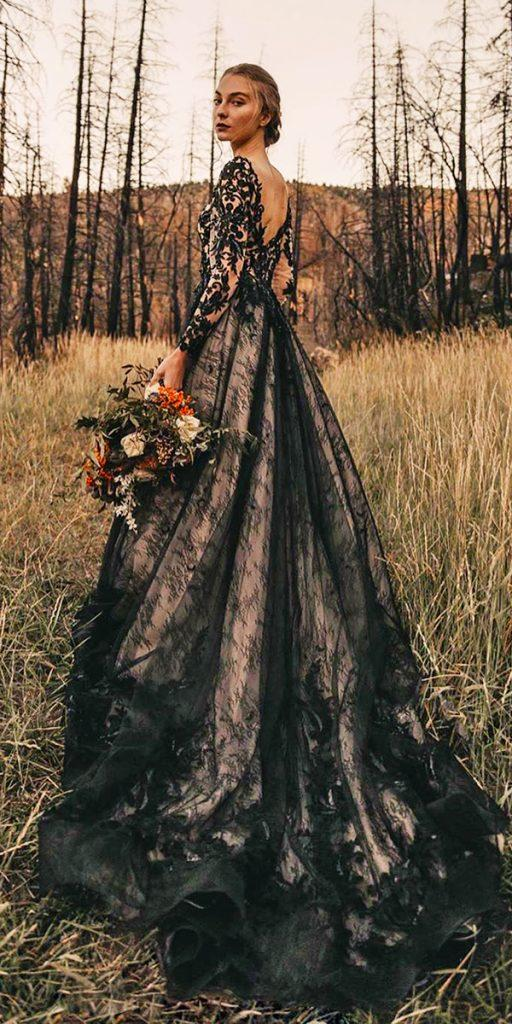Dark Romance 24 Gothic Wedding Dresses Wedding Dresses Guide